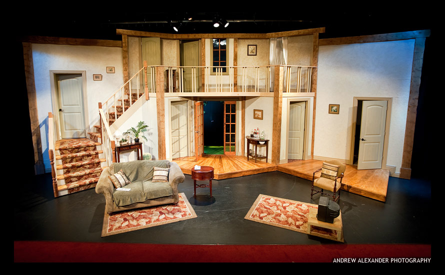 Antaeus Workshops Noises Off SET